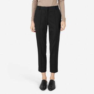 Everlane -  GoWeave Crop Trouser - Black, Size 6